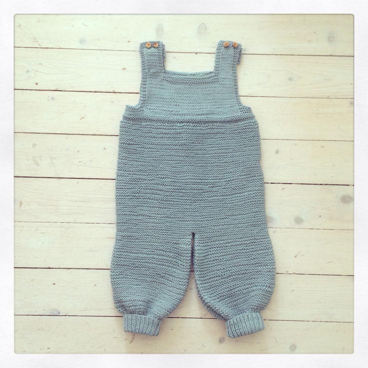 Selebukse baby Mykstart strikking knitting knit strikk babyboy