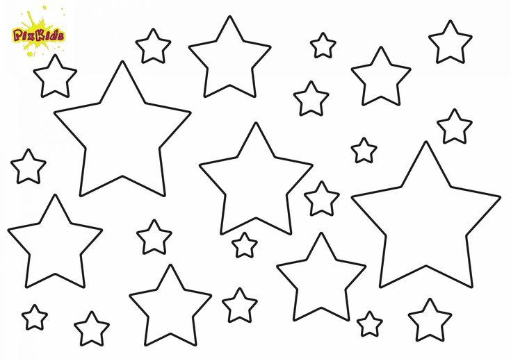 Malvorlagen Sterne Zum Ausdrucken In 2020 Sterne Zum Ausdrucken Malvorlage Stern Ausmalbild Stern