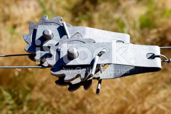 No 8 Wire Tensioners royalty-free stock photo