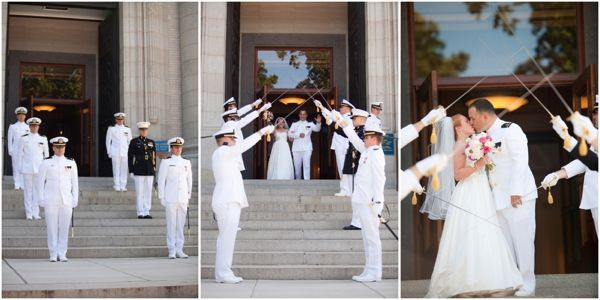 military wedding tradition arch of swords ceremony navy