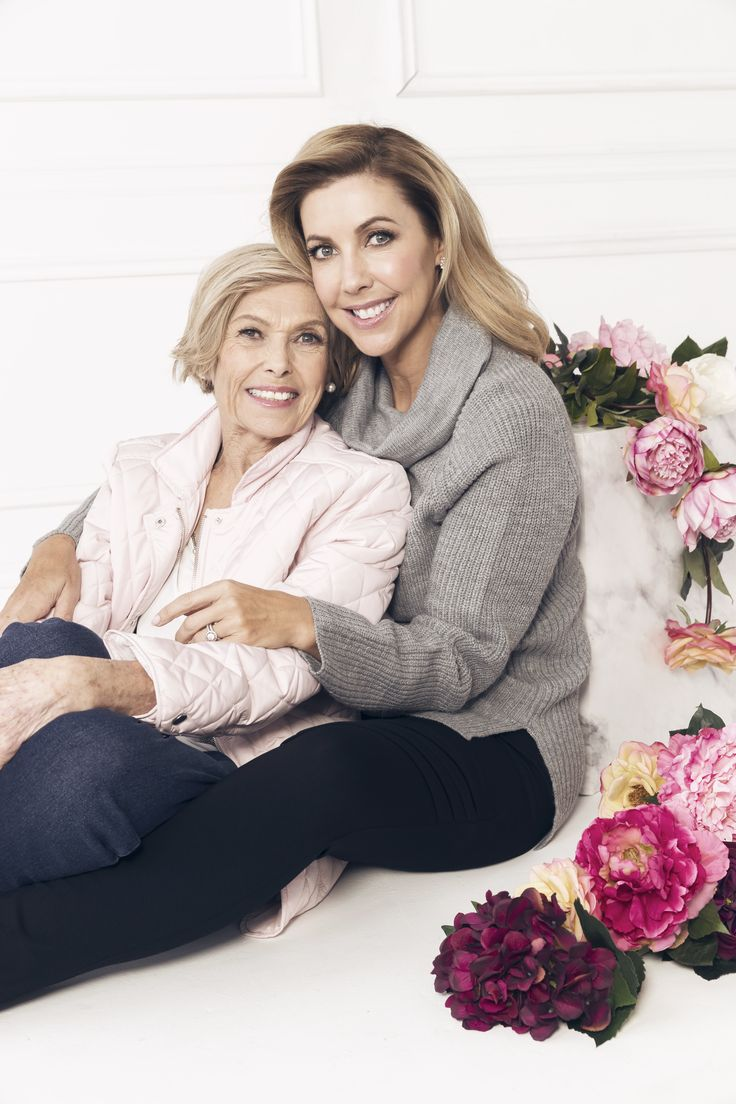 Catriona and Heather Rowntree showcase the latest NONI B collection - just in time for Mother's Day!