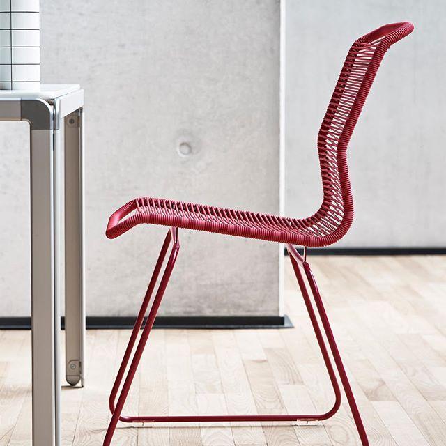 Panton One chair in red #montanafurniture #danishdesign #pantonone #panton #red #christmas #office