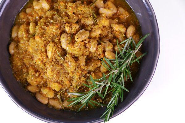 The Chew   Mario Batali's Braised White Beans