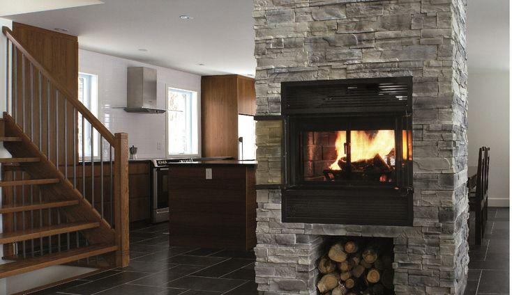 Foyer au bois Valcourt FP5 Westmount