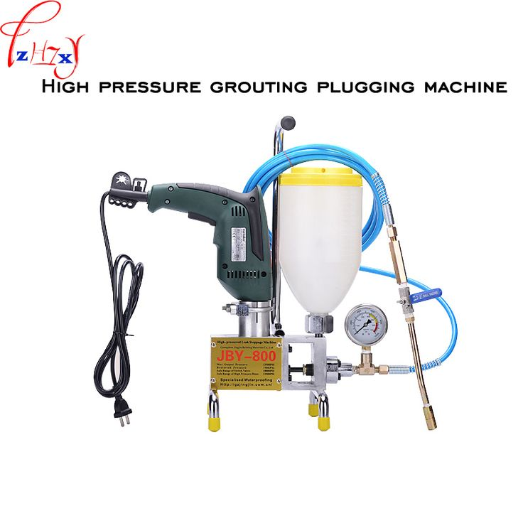 Polyurethane resin grouting grouting pump JBY-800 high pressure grouting plugging machine 220V 1PC #Affiliate