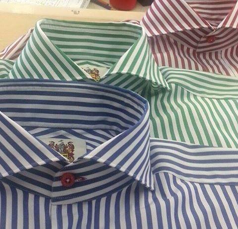 BESPOKE TWINS — MTM/Bespoke Shirts. Mark & Marlon Austin for...