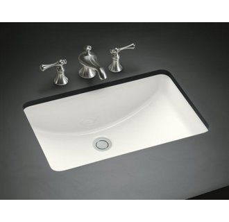 """View the Kohler K-2214 Ladena 18-3/8"""" Undermount Bathroom Sink with Overflow at FaucetDirect.com."""
