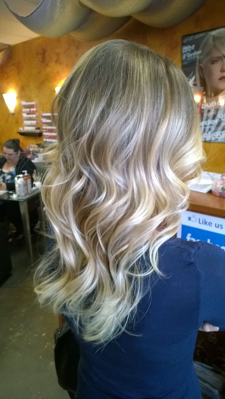 Blonde ombré hair coloring. Pretty, low maintenance look! Done by yours truly! Bethany Hans Maxems Salon Jackson NJ 732-961-0019