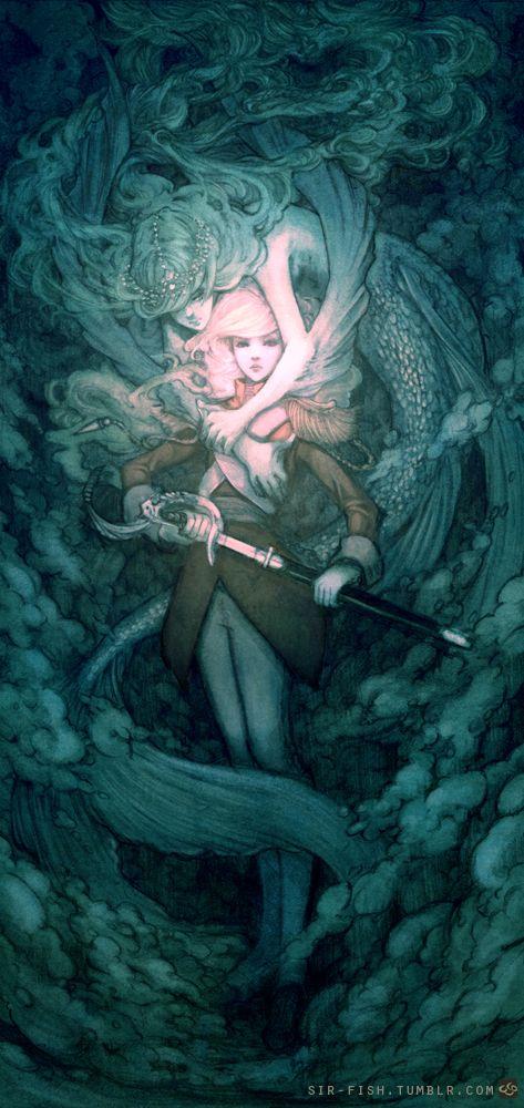 Mermaid by SirFish on deviant