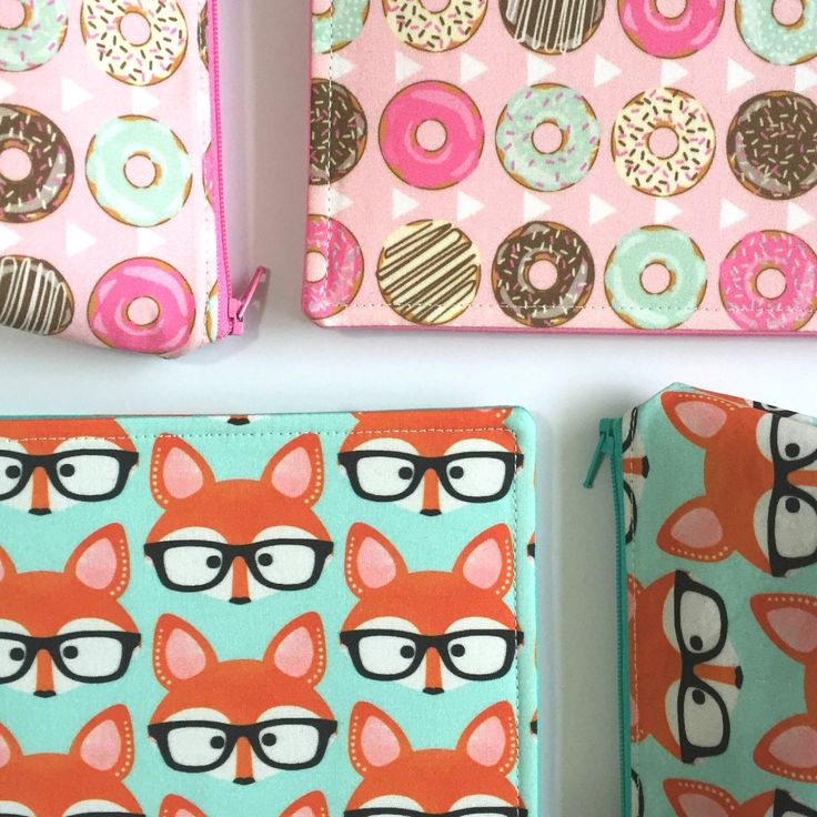NEW! A5 Journal Notebook Covers with matching pencil case!
