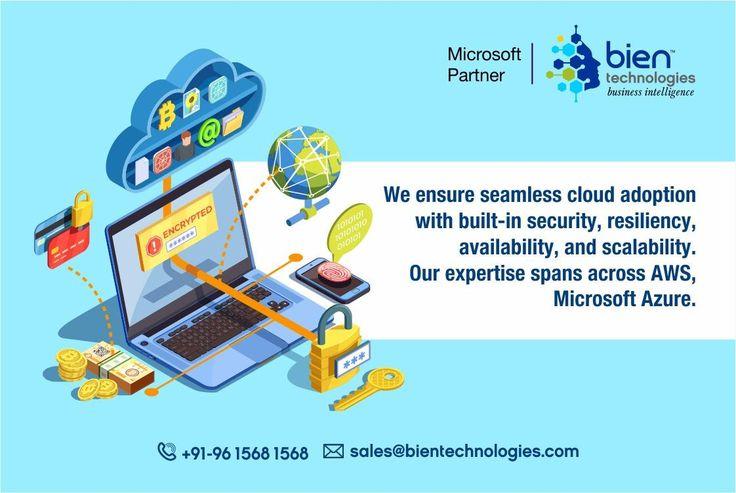 Azure Services at Bien Technologies in 2020 Digital