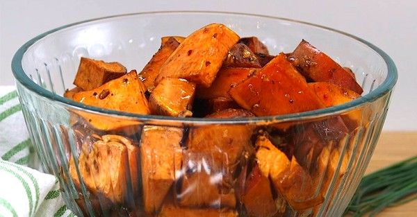 Maple Walnut Roasted Sweet Potatoes Will Compliment Your Holiday Menu Perfectly