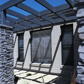 Geelong project by Davis Sanders Homes using Nuvo Aspire bricks - Mist (Boral)