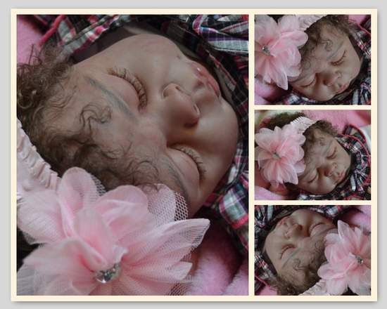Custom Baby A A ETHNIC by By Norry Otte - Reborn Baby Doll