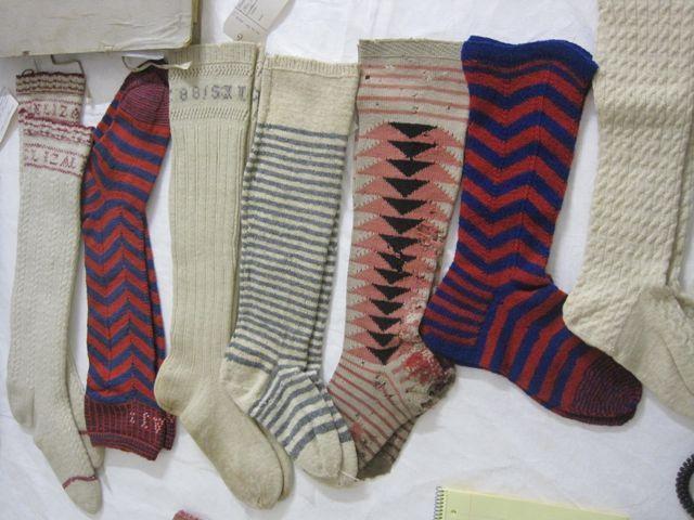 socks from 1880s - Ideoita myös tähän päivään.