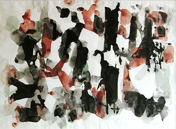 PAUL EMILE BORDUAS: Untitled