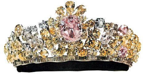 Tiara Mania: Iran  Empress Farah of Iran's Noor-ol-Ain Tiara