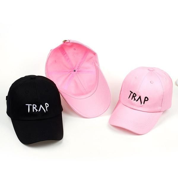 ae728d9bb464e 100% Cotton TRAP Hat Pretty Girls Like Baseball Cap Trap Music 2 Chainz  Album Rap LP Dad Hat Hip Hop trap Hood Wholesale Custom