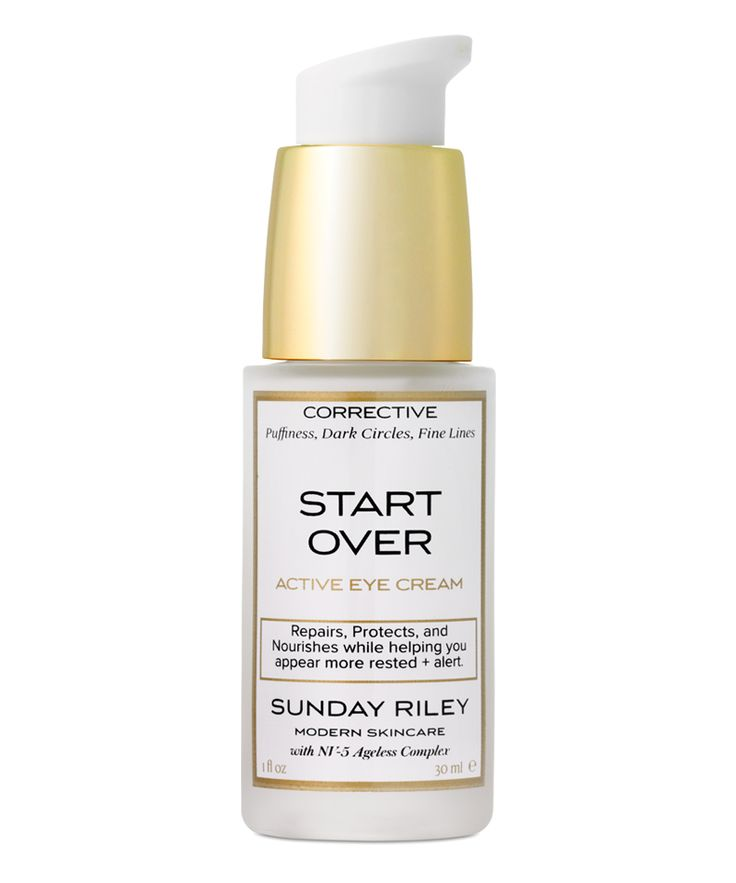 #CultBeauty Start Over Eye Cream  by Sunday Riley