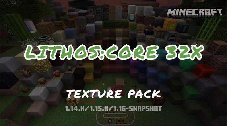 Lithos Core 32x Texture Pack Texture Packs Texture Snapshots
