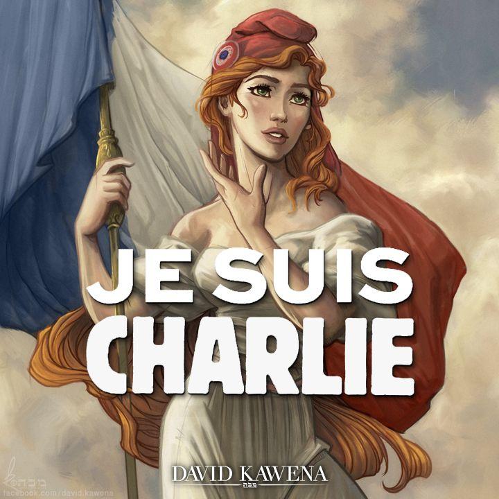 Je Suis Charlie by davidkawena on DeviantArt