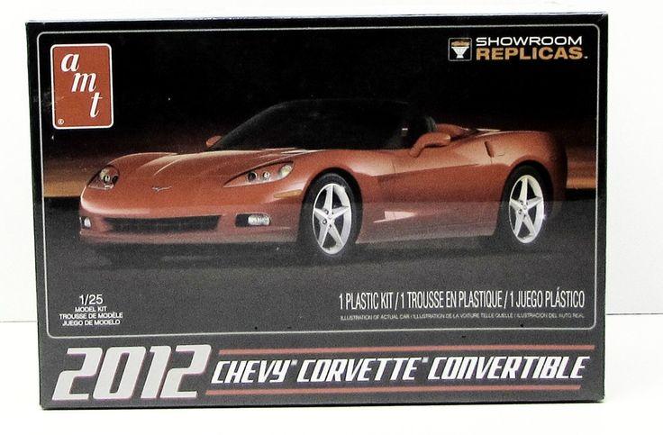 2012 Corvette Convertible AMT 733 1/25 New Car Plastic Model Kit