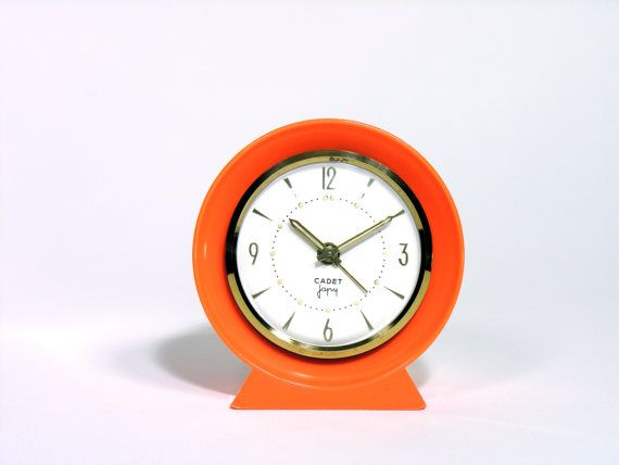 JAPY CADET French Mechanical Alarm Clock  Made by LArriereBoutique