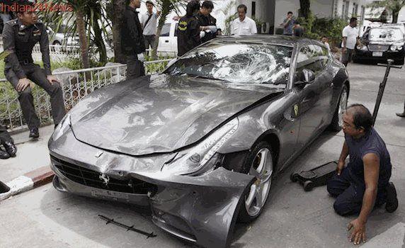 Ferrari Hit-and-run Case: Thailand to Seek Arrest Warrant For Red Bull Heir Yoovidhaya