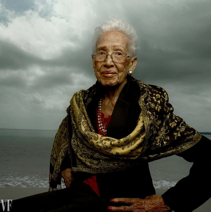 Katherine Johnson, photographed at Fort Monroe, in Hampton, Virginia. Photograph by Annie Leibovitz.