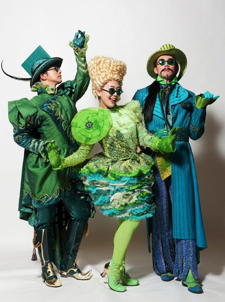 """Wicked Broadway Costumes 