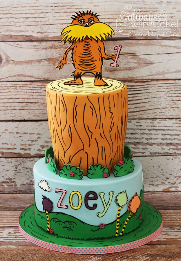 400 best Dr Seuss Cakes images on Pinterest Conch fritters