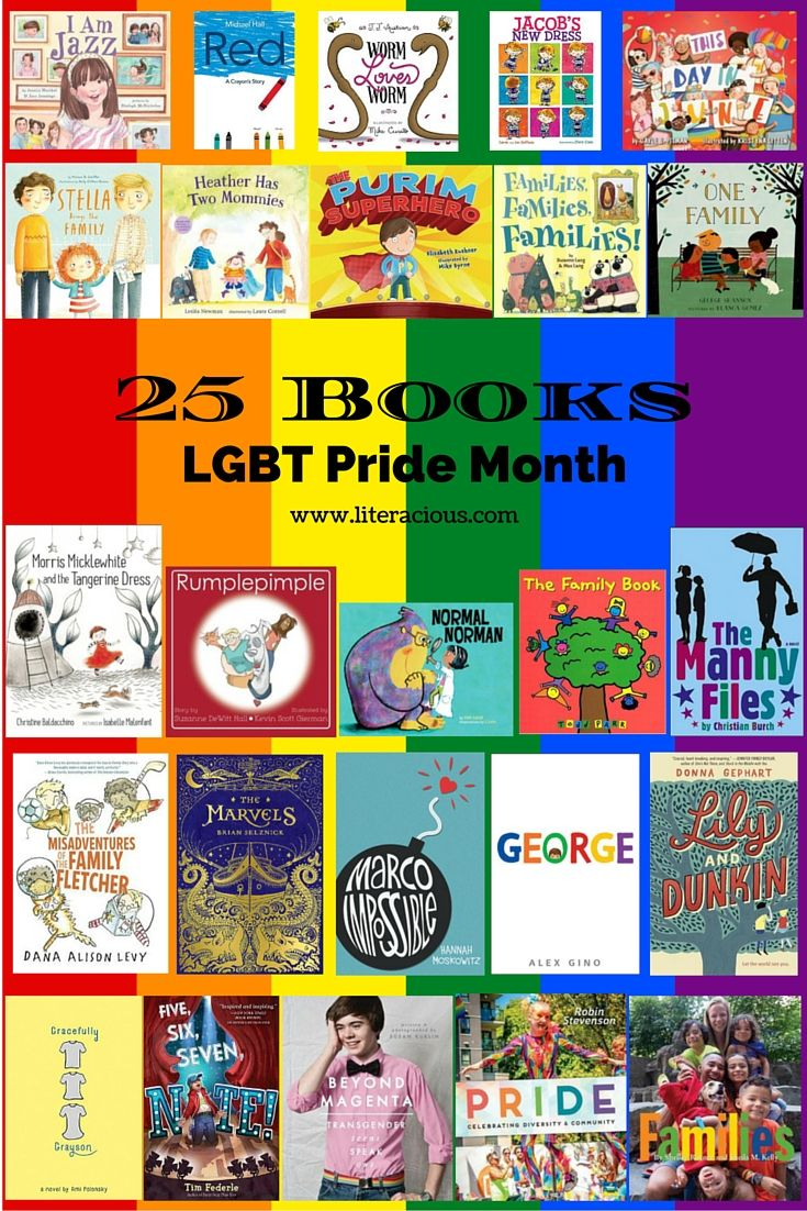 I Am Jazz by Jessica Herthel and Jazz Jennings Red: A Crayon Story by Michael Hall Worm Loves Worm by J. J. Austrian Jacob's New Dress by Sarah Hoffman This Day in June by Gayle E. Pitman Ste…