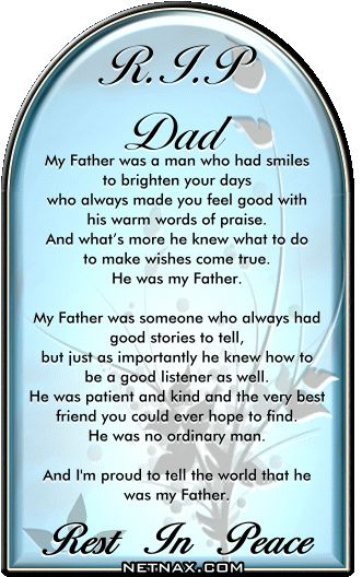 in memory of dad poems  | rip dad poem poem to my dad