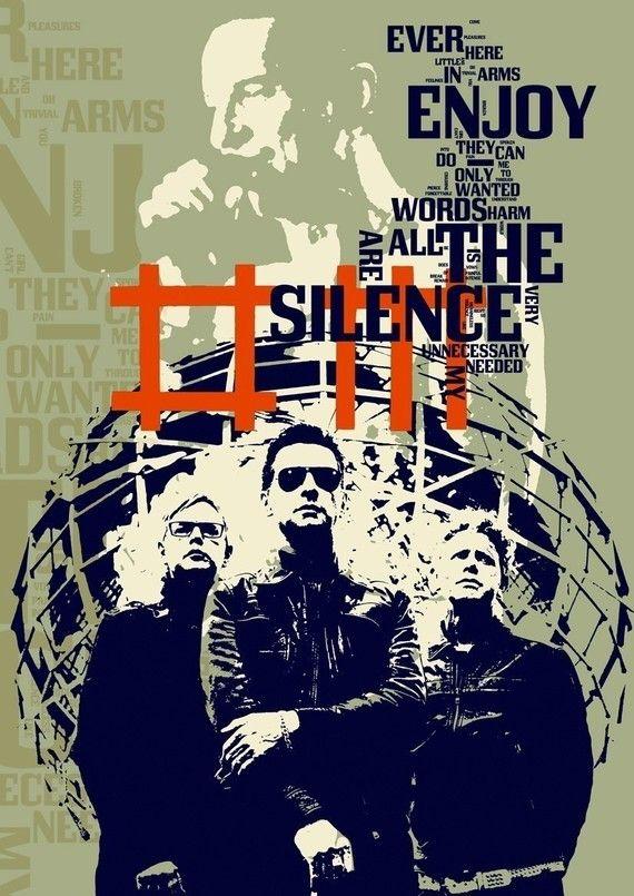 Stampa Depeche Mode musica poster compleanno regalo di Artistico