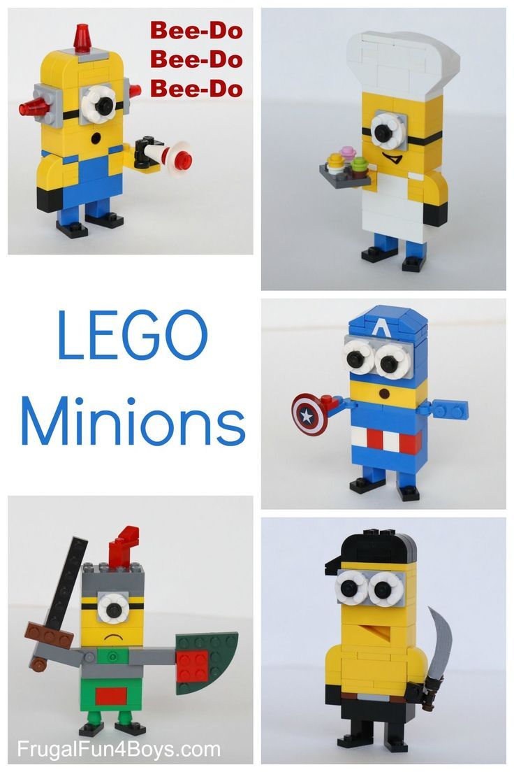 More LEGO Minions to Build! Love the Bee Do one!