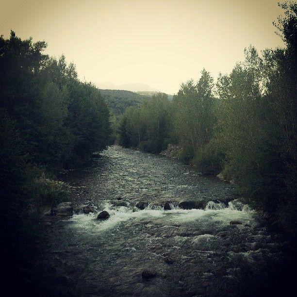 #Flamisell river going through #Senterada #VallFosca #PallarsJussa #Lleida #Catalunya