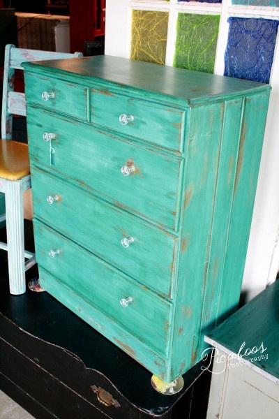 Vintage Dresser, Shabby Chic