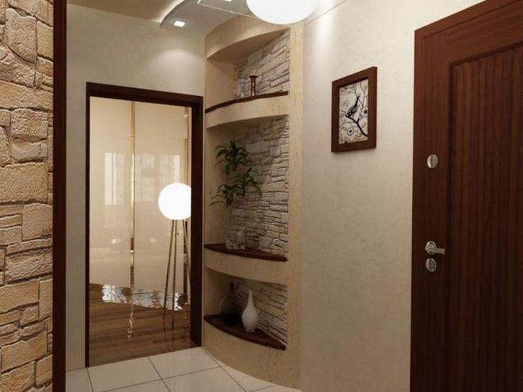 Отделка стен в прихожей декоративной штукатуркой фото: в коридоре, декорирование стен шпаклевкой своими руками, в интерьере, видео (20 фото)