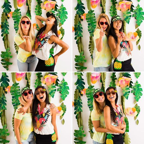 Add this photo booth to your summer bash.