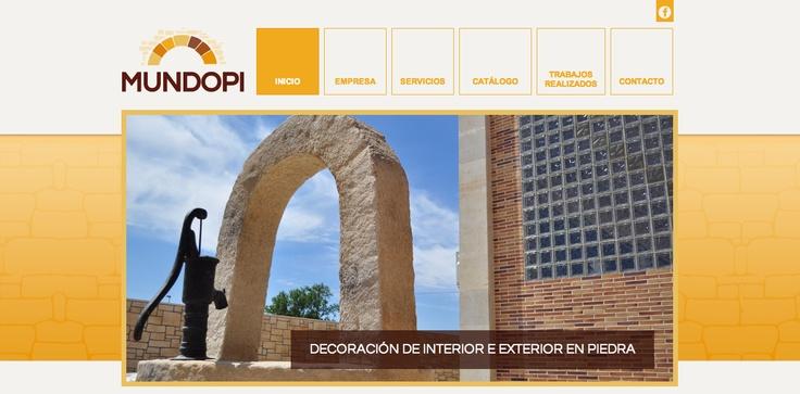 Trabajo web de Indiproweb para Mundopi. Pueden visitarlo en  www.mundopi.es