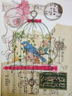 Thread and Thrift: The Caged Bird Sings