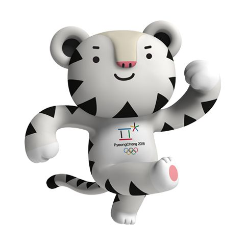 Image result for next olympics 2018 mascot