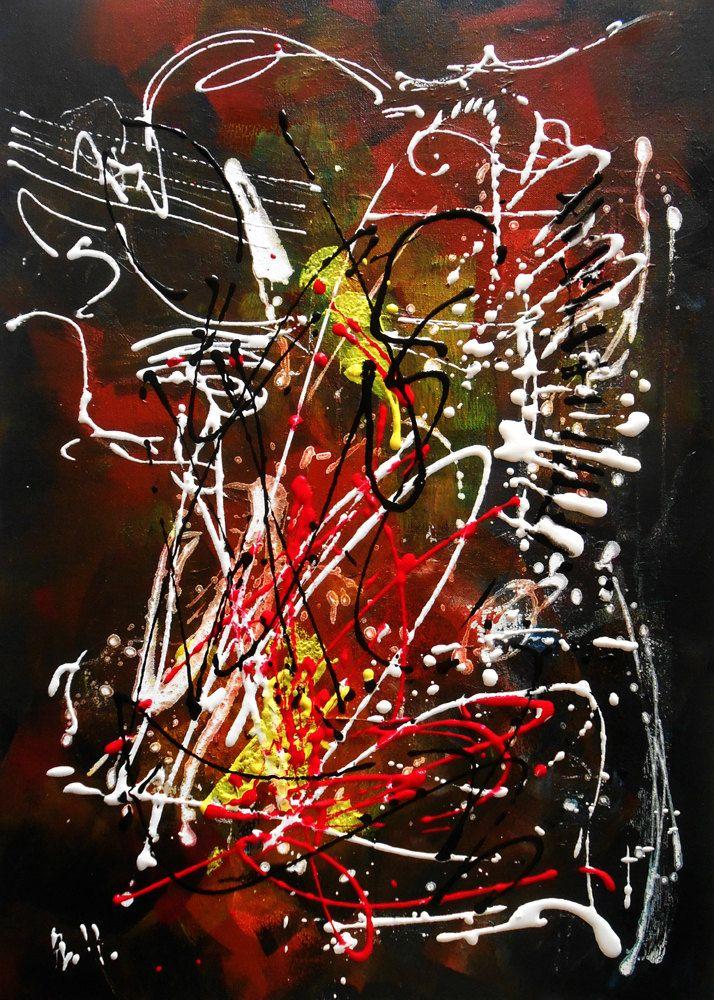 15 best tableaux moderne contemporain peinture abstraite for Tableau peinture contemporain