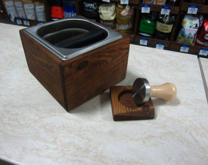 Knock box