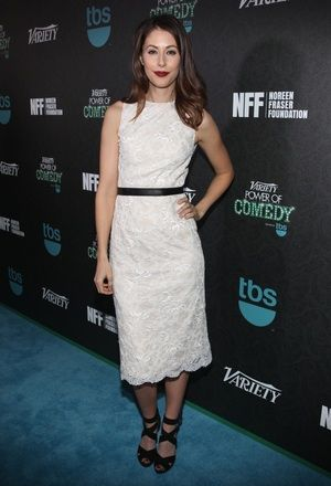Amanda Crew in White Floral Dr... is listed (or ranked) 17 on the list The Hottest Amanda Crew Photos