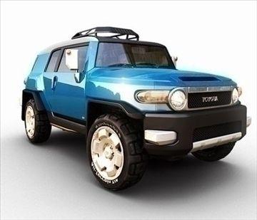 Toyota_FJ_Cruiser 3D Model-   Toyota_FJ_Cruiser high model - #3D_model #SUV