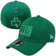 New York Giants St Patrick's Day Apparel, Giants Saint Patrick's Day T-Shirts, Hats, Green Clothing, Shamrock Shirt, Lucky Clover Gear