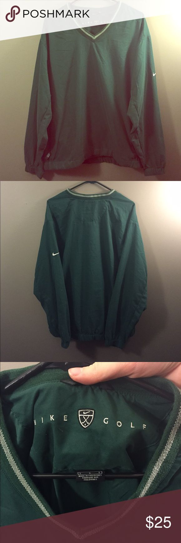 Nike Large Dark Green Golf Rain Jacket NWOT Brand new without tags. Thank you for looking! Nike Jackets & Coats Raincoats