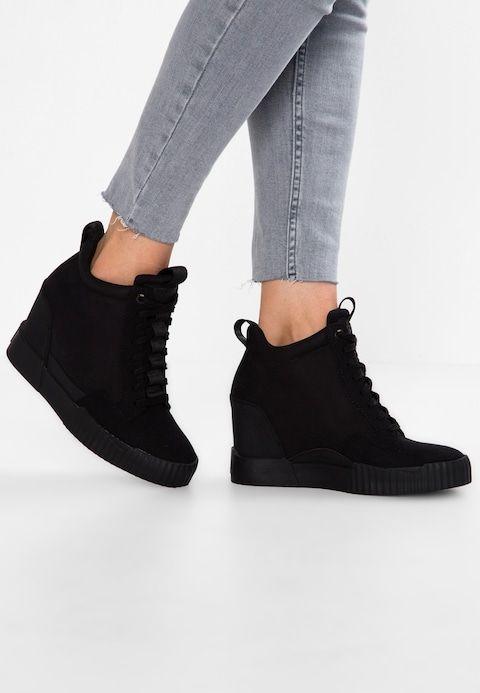 3075dfd33e1 RACKAM CORE WEDGE - Sneakers laag - black @ Zalando.nl 🛒 in 2019 ...