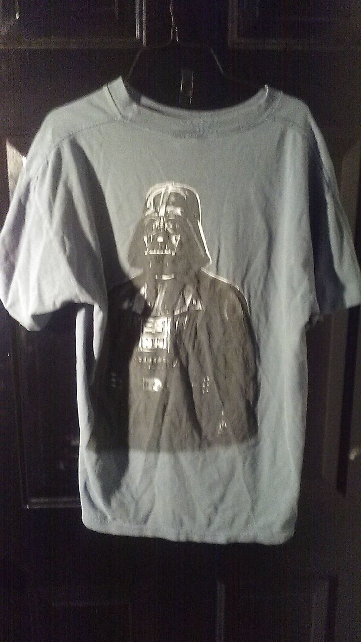Star Wars Darth Vader Imperial Wear T-Shirt Size Adult Large  luke skywalker made in USA by finleysvintage on Etsy